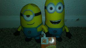 Minion plushies for Sale in Houston, TX