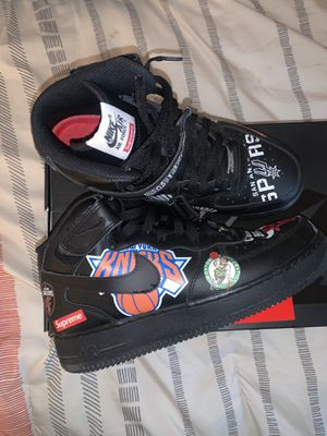 Nike Supreme x NBA x Air Force 1 Mid 07 for Sale in Memphis, TN