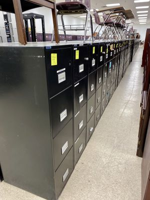 Phoenix Black fire proof vertical filing cabinets for Sale in Columbus, OH