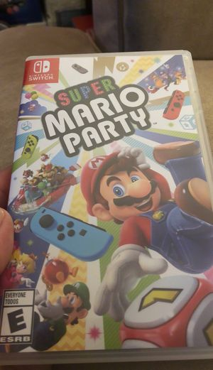 Mario party Nintendo switch for Sale in Huntington Beach, CA