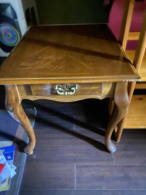 Side table, Bookshelves and free study chair for Sale in Menifee, CA