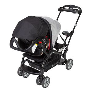 Baby Trend Sit N Stand Stroller, car seat w/base, snap n go stroller for Sale in Montclair, CA