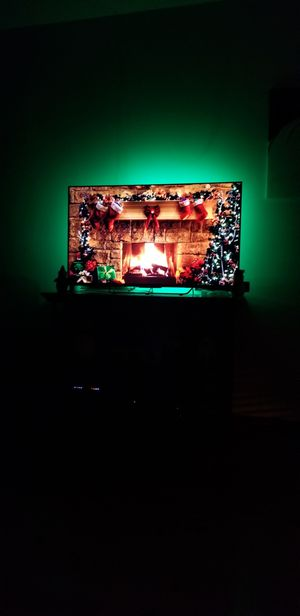50 inch sony gaming TV. Includes color changing lights. 240 hz refresh for Sale in Dallas, TX