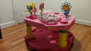 ExerSaucer/ Baby bouncer by Evenflow for Sale in Frederick, MD