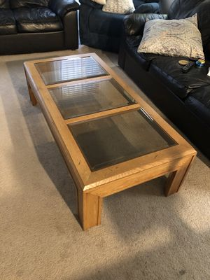 Coffee table with end tables for Sale in Gilbert, AZ