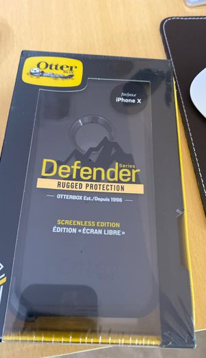 Otter BOX Defender for iPhone X for Sale in Frederick, MD