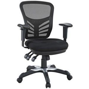 Black Mesh Office Chair with Dual-caster Wheel for Sale in Mountain View, CA