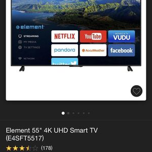 """55"""" Element Smart TV for Sale in Waldorf, MD"""