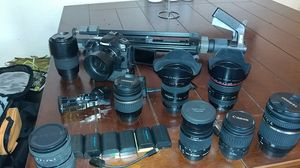 Canon 80D and great glass. for Sale in Santa Maria, CA