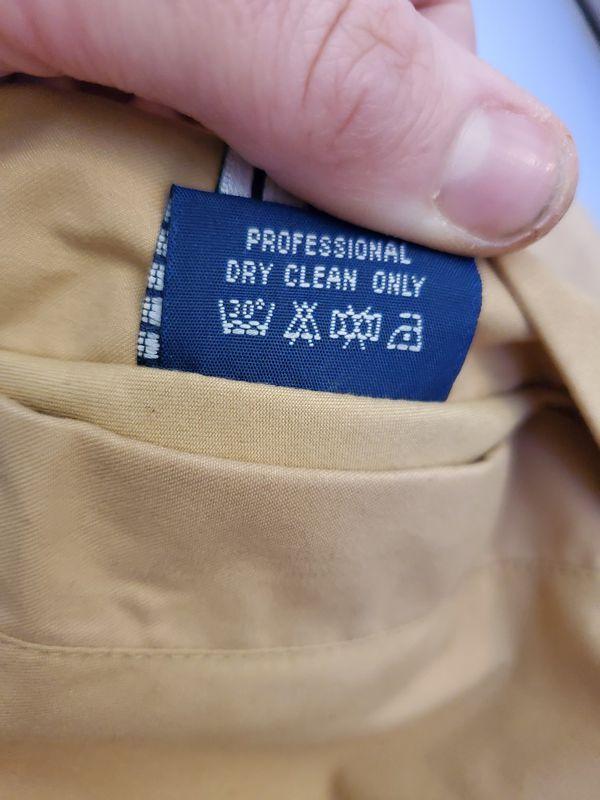 Burberry's reversible jacket