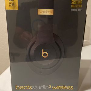 Beats Studio 3 Wireless - Skyline Collection - - Shadow Gray for Sale in Gilbert, AZ