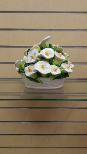 Cookie Jar / Storage Container, etc... ( new ) calla lilies for Sale in Holladay, UT