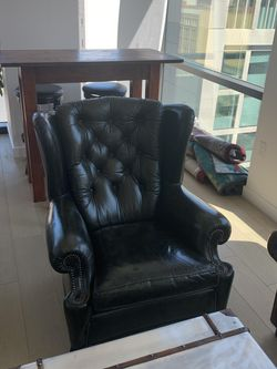 Wingback Leather Chair for Sale in Los Angeles,  CA