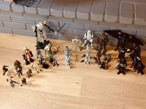 Star Wars collectibles, vintage huge lot action figures Qty 45 for Sale in San Diego, CA