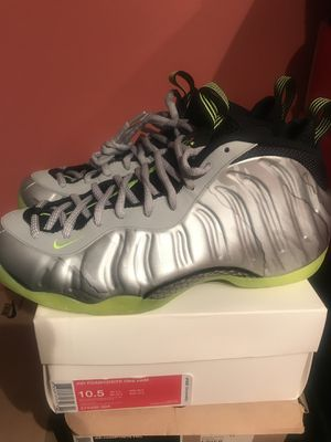 c99d03a8644237 Nike air foamposite one silver camo sz 10.5 BRAND NEW IN BOX NO TRADES for  Sale