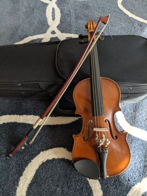 H Siegler HS-10 Student 1/16 Violin with Case & Bow for Sale in Frisco, TX