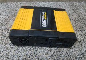 Road Pro Power Drive 2000 Watt inverter for Sale in Vancouver, WA