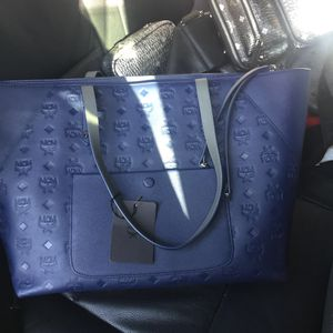 MCM Bag (Blue) for Sale in Los Angeles, CA