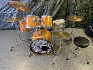 Yamaha DP series drum set zildjian cymbals for Sale in Las Vegas, NV