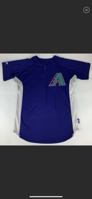 Arizona Diamondbacks MLB Retro Majestic Cool Base Jersey for Sale in Young, AZ