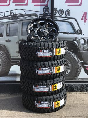 20 Mudster Hog Off Road Wheel Tire Package Only 1495 For Sale In