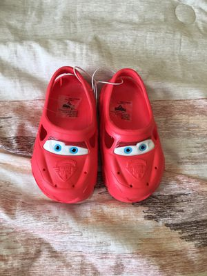 Cars Disney boys slip on shoes size 7/8 for Sale in Tampa, FL