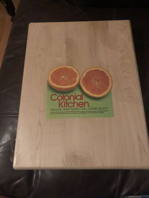 Chopping block hard maple new 12x16 for Sale in Lone Tree, CO