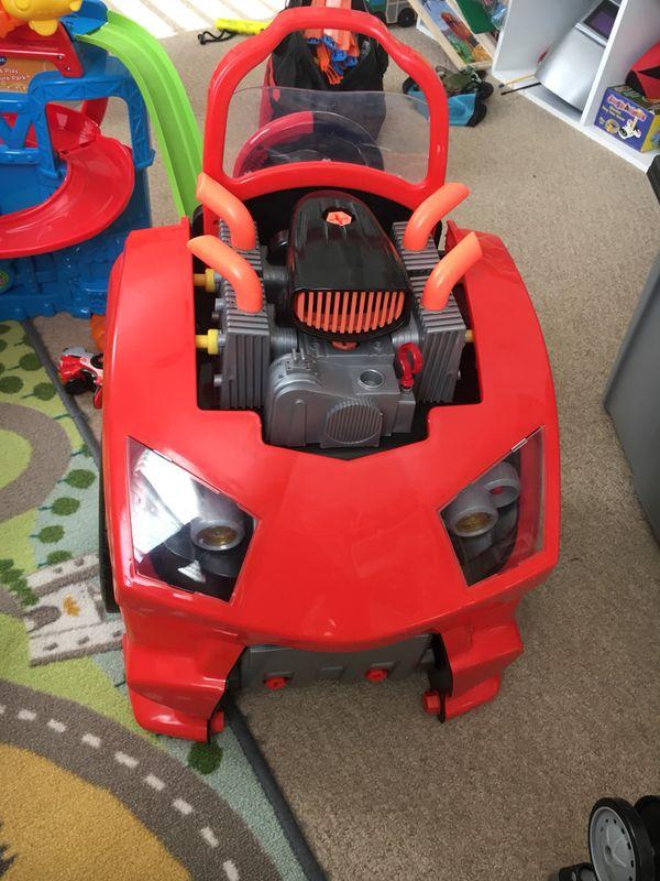 Hot wheels car service toy