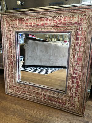 """Pottery Barn Mirror """"Tangier Carved Mirror"""" for Sale in Portland, OR"""