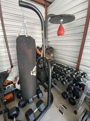 Heavy bag speed bag combo boxing for Sale in Crown Point, IN