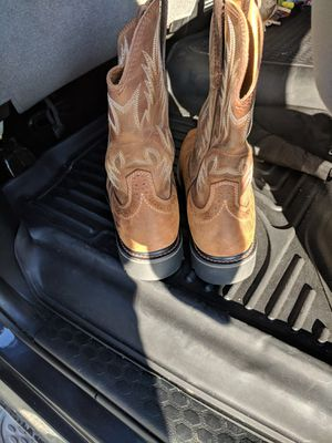 Ariat Sierra wide square steel toe boots for Sale in Ashburn, VA