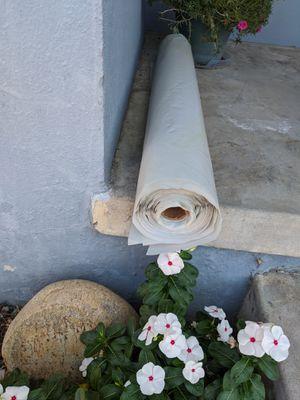 Roll of landscape plastic for Sale in La Mesa, CA