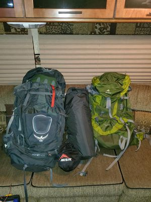 Backpacking package for Sale in South Prairie, WA
