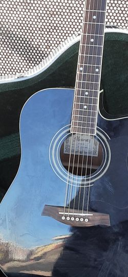 Ibanez Electric/acoustic Guitar With Hard Case for Sale in Glendale,  AZ