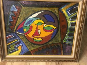 AMAZING Beaded African Abstract Artwork - $200 (Bethesda) for Sale in Bethesda, MD