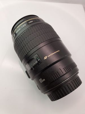 Canon 100mm 2.8 ef macro for Sale in Carson, CA