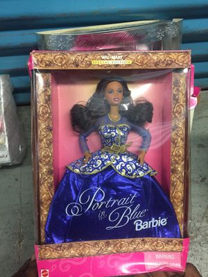 Antique Portrait in blue Barbie doll for Sale in Philadelphia, PA