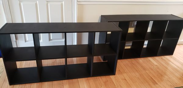 2 Cube Shelf Storage Units