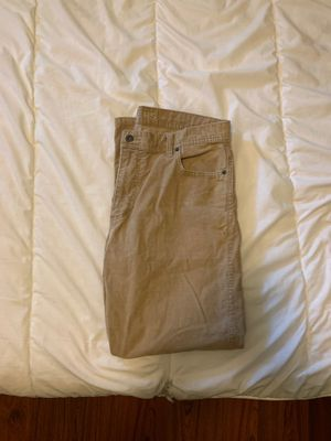 Beige Corduroy Jeans 36x29 for Sale in Compton, CA