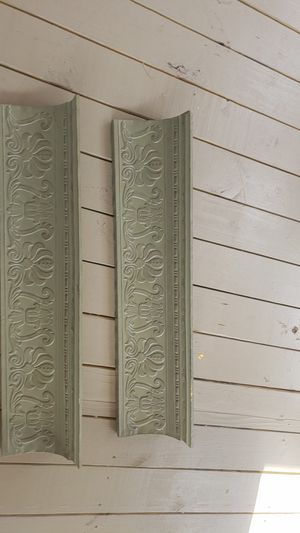 two picture ledges/hanging wall shelves for Sale in Manor, TX
