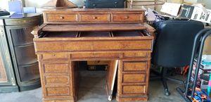 Antique Vintage Cabinet Desk with Skeleton Key Hidden Drawers for Sale in Scottsdale, AZ