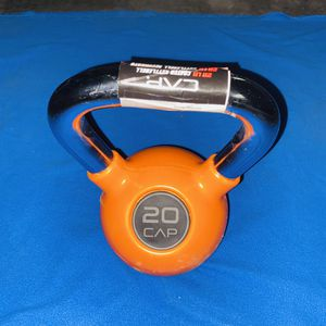 One 20lb kettlebell coated. Brand is CAP for Sale in Los Angeles, CA