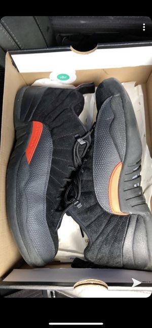 Jordan 12s low max orange size 10 Jordan's men's shoes for Sale in New Port Richey, FL