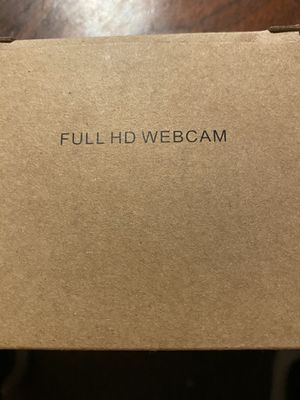 Full HD Webcam with Microphone for Desktop for Sale in Florissant, MO