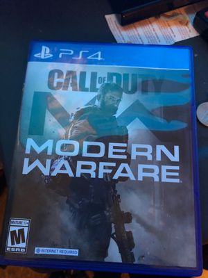 Cod modern warfare for Sale in Tampa, FL
