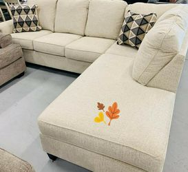 New Abinger Natural LAF Sectional⭐ In Stock 💗Couch & living room set & sofa for Sale in Houston,  TX