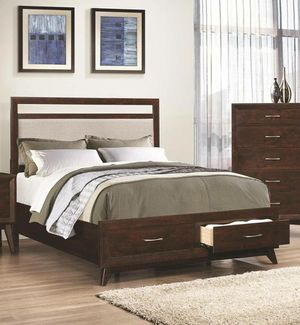 Brand New Modern Queen or King Size Platform Bed with Storage Drawers for Sale in KNG OF PRUSSA, PA