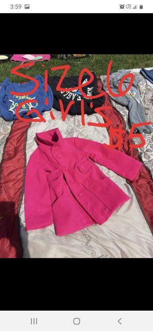 Girls size 6 winter coat like new for Sale in Saint Thomas, PA