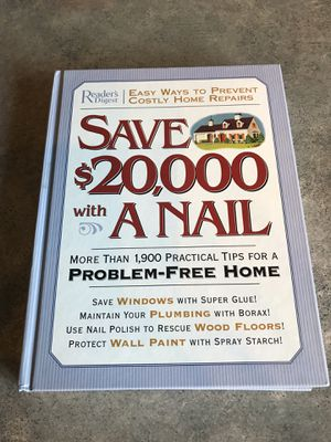 Readers Digest Book Save $20,000 with a Nail Home Improvement Repairs for Sale in KIMBERLIN HGT, TN