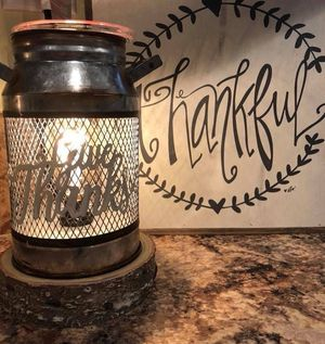 Scentsy Give Thanks Milk Can Warmer - Brand New In Box for Sale in Laurel, MD